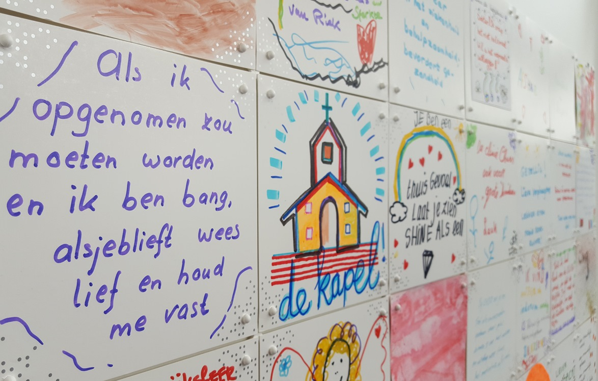 What matters to you-muur